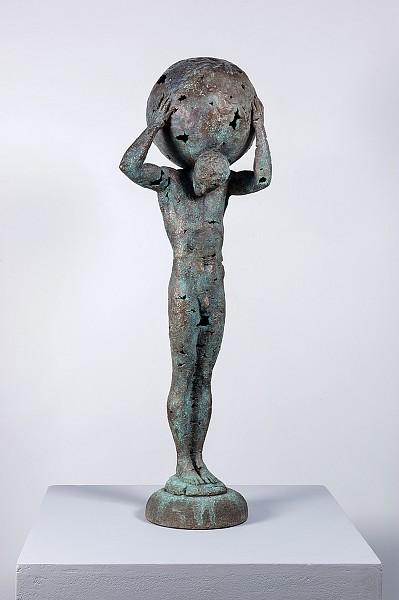 Egor Zigura. Colossus Holds Up the World