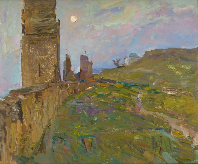 Возле Генуэзской крепости