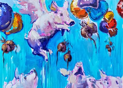 С 28 сентября до 18 октября в Lera Litvinova Gallery пройдет арт-проект «Большой формат»