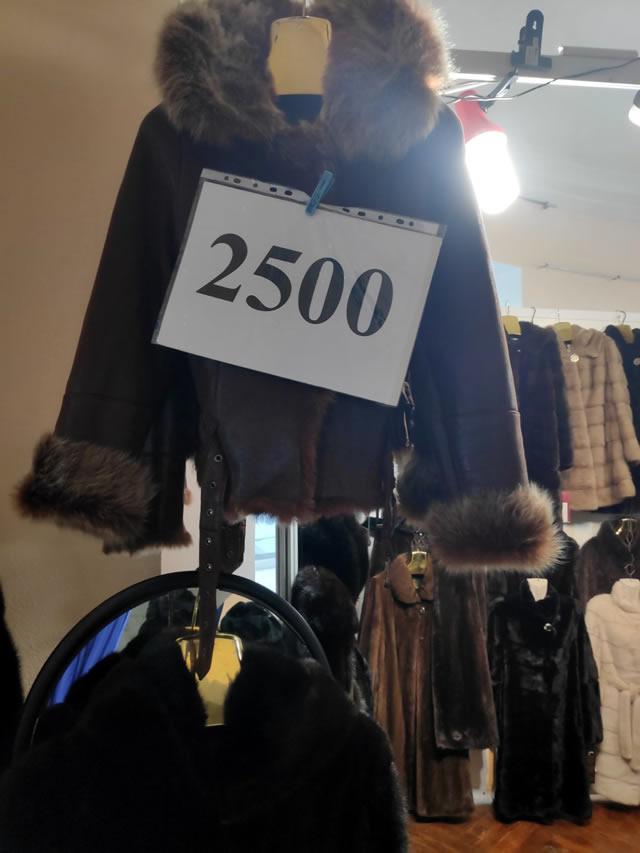 Дубленки на меховой выставке от 2500 грн