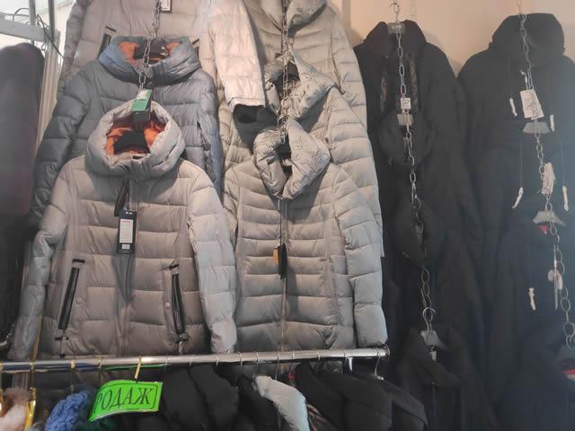 Мужские куртки зимние на ярмарке