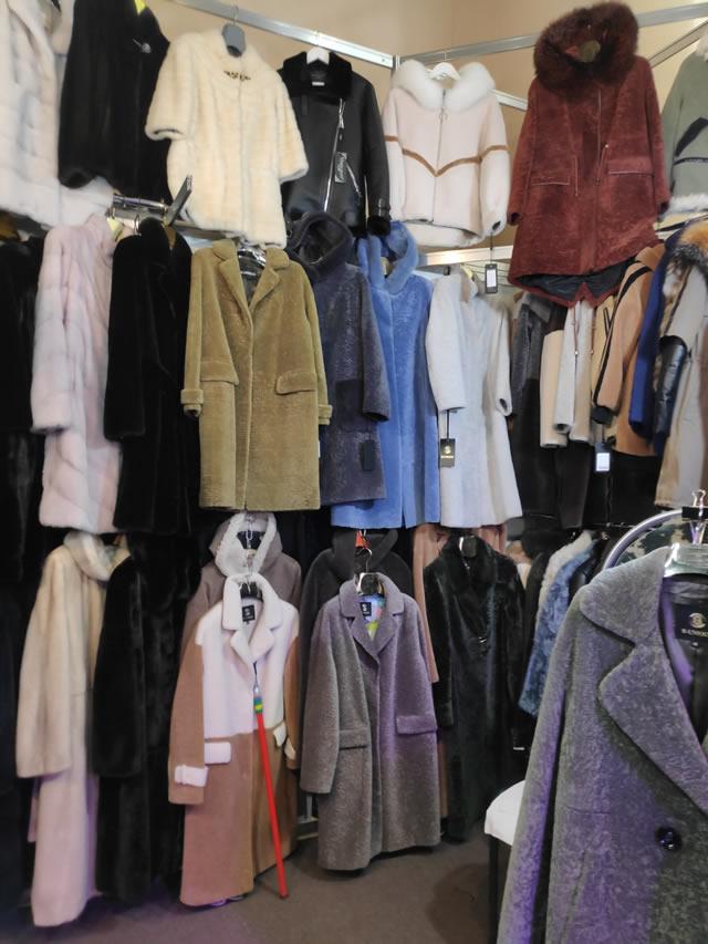 Купить мутоновое пальто на выставке-ярмарке меха