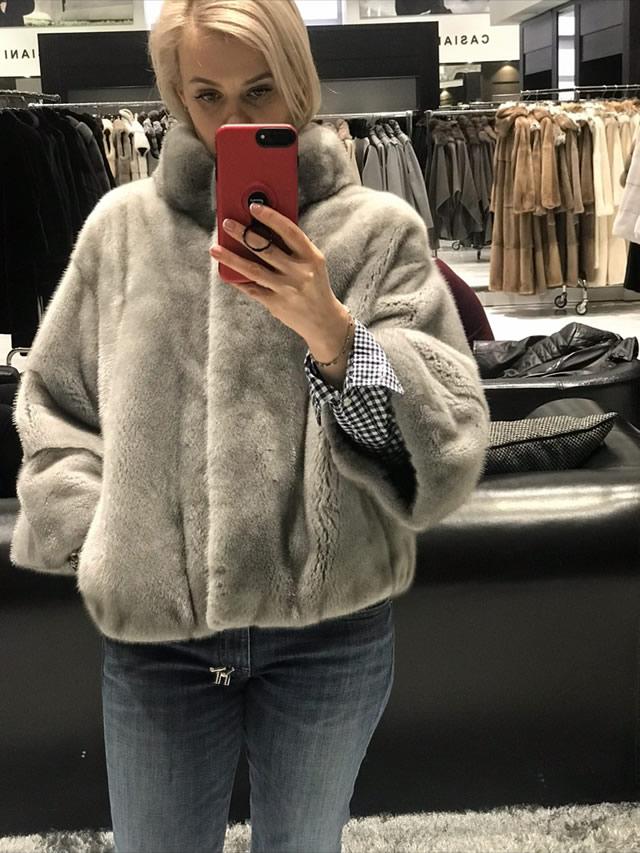 меховая куртка женская