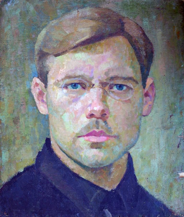C Єржиковський автопортрет-