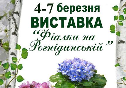 С 4 по 7 марта в Доме природы пройдет выставка фиалок к празднику 8 марта