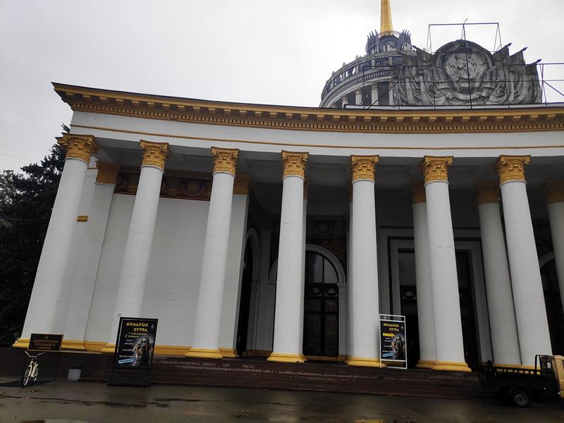 Меховая выставка-ярмарка на ВДНГ в Киеве