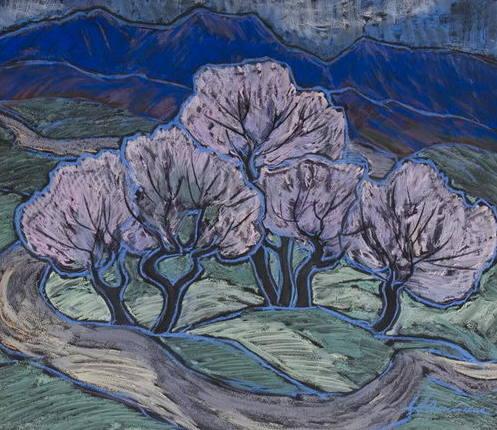 Олійник Ганна Петрівна Цвітіння у горах 1978