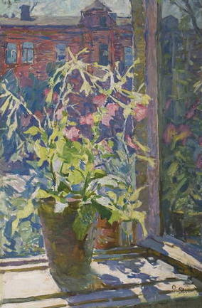 Яблонська Олена Нилівна-Тютюнець не вікні 1945