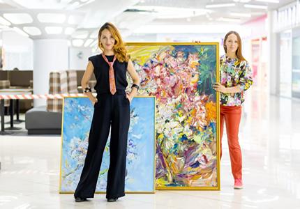 С 3 августа по 1 ноября в ТЦ «Gorodok Gallery» пройдет выставка проект Леоноры Янко и Леры Литвиновой «Культурное место»