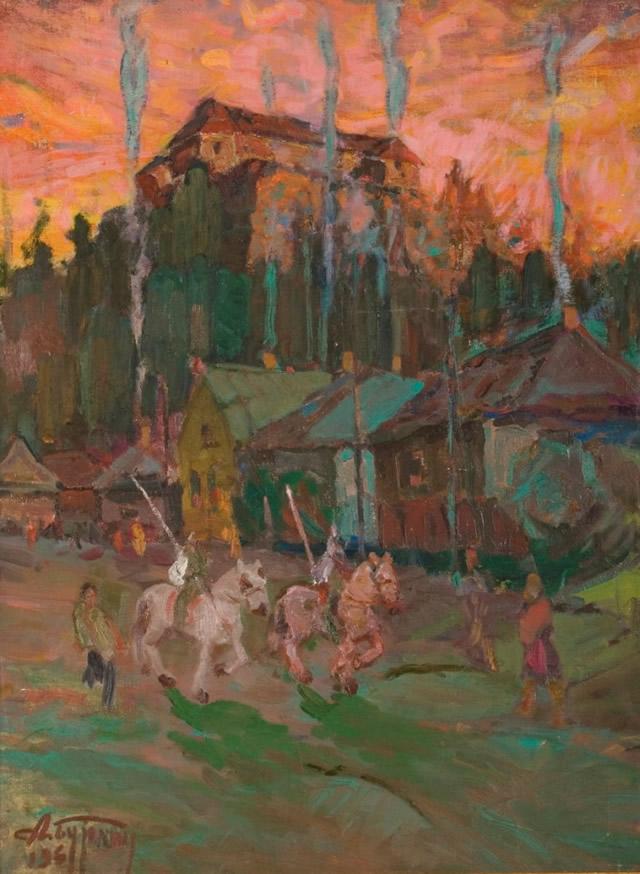 Бурлин Ужгородский замок