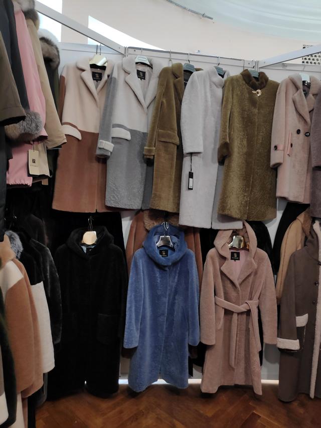 Мужские осенние пальто и женские из натурального меха овчины, керли