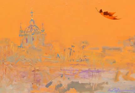 """С 1 по 31 октября в Центральном доме художника проходит выставка живописи """"Просто выставка в октябре"""""""