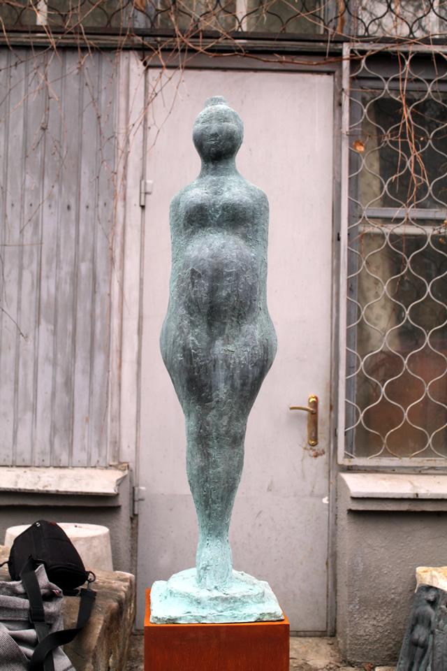 Берегиня скульптура Владимир Кочмар