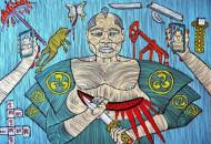 С 1 по 17 октября в галерее Portal 11 пройдет персональная художественная выставка Barbudaz «Trinity»