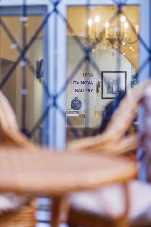 интерьер арт галереи